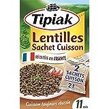 Tipiak lentilles vertes sachet cuisson 240g - Prix Unitare - Livraison Gratuit Sous 3 Jours