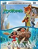 Moana & Zootopia (3D)