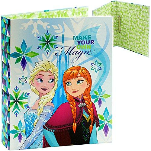 alles-meine.de GmbH Ordner / Ringbuch / Sammelordner -  Disney die Eiskönigin - Frozen  - A4 - Ringordner für Dokumente / 2 Ring - Mechanik - Aktenordner - Schulordner Büro - v..