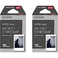 Instax Mini Monochrome (Noir et blanc) film instantané–20Shot Lot