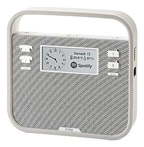 Triby - Enceinte Connectée Portable et Intelligente, Gris