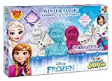 Craze 54230 – Magic Sand Frozen Winter Magic Box. Circa 600 G di sabbia con glitter in 3 diversi colori