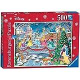 Ravensburger Disney Princess Weihnachten Feiern Kunstnägel Puzzle