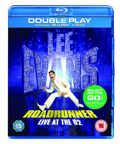 lee-evans-roadrunner-live-at-the-o2-edizione-regno-unito-blu-ray-import-anglais