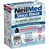 NeilMed SinuRinse/50 Sachets Kit Including Easy Squeeze Bottle