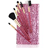 [Sponsored]Foolzy BR-16B Professional Makeup Brushes Kit, Purple (Set Of 7)