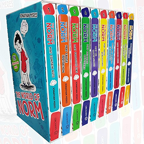 The World of Norm Collection 10 Books Box Set (Book 1-10) By Jonathan Meres