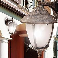 MIA Light Wand Leuchte AUSSEN Ø200mm/ Antik/Mediterran/ Golden/Bronze/ Lampe