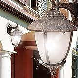 MIA Light Wand Leuchte AUSSEN Ø200mm/ Antik/Mediterran/ Golden/Bronze/ Lampe Aussenlampe Aussenleuchte Wandlampe Wandleuchte