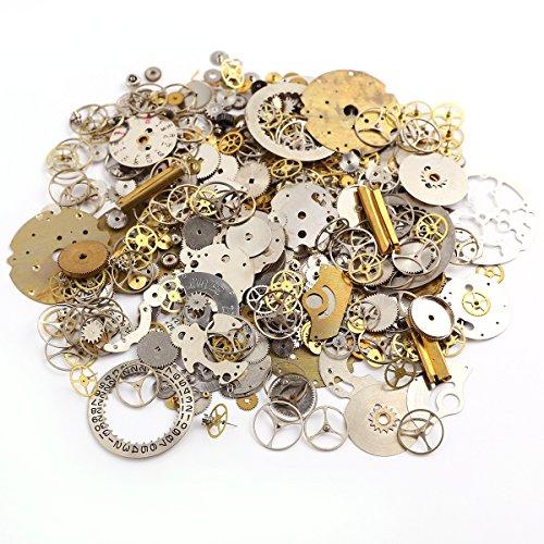 50g-pieces-de-montres-roues-dentees-rouage-steampunk-cyberpunk-artisanat-bijoux