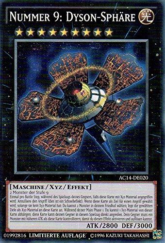 Preisvergleich Produktbild Nummer 9: Dyson-Sphäre AC14-DE020 Super Rare NM DE YU-GI-OH!