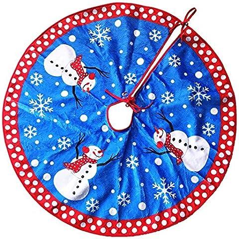 Gonna di natale decorazioni albero di Natale