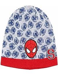 Mütze Kinder Jungen Spider-Man grau/rot von 3bis 9Jahre