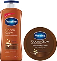 Vaseline Cocoa Body lotion 400ml + Vaseline Cocoa Body Cream, 150ml