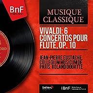 Vivaldi: 6 Concertos pour flûte, Op. 10 (Mono Version)