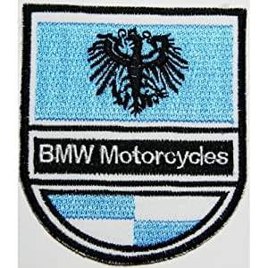 Ecusson brode Bmw patches 6.5x7.5 cm Motorcycle biker patches racing patchLogo car patch sew/iron on Vendu de R.M.A.