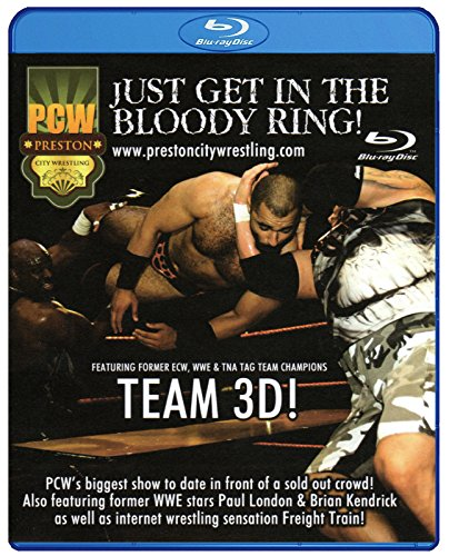 PCW - PRESTON CITY WRESTLING - Just Get In The Bloody Ring BLU-RAY