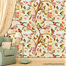 Paper Plane Design Self Adhesive Wallpaper (PVC Vinyl, 3 Rolls, Size : 27 Sqft)
