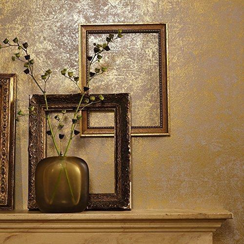 Marburg Lyra Textur Marmor Muster Tapete Modern Metallisches Motiv - Gold 53128
