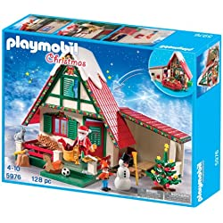 Playmobil Navidad - Casa de Papá Noel, playset (5976)