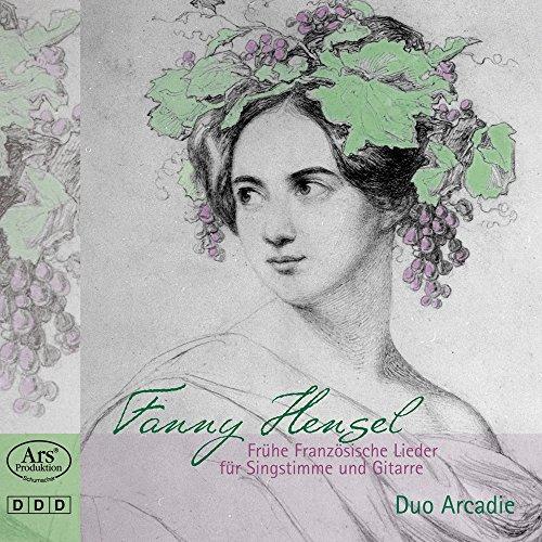 Fanny Hensel: Frühe Französische Lieder für Singstimme und Gitarre (Französisch Gitarre)