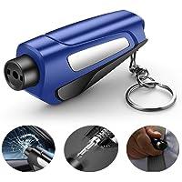 YOLEABY UPSUNNY-DE Sicherheitshammer für Fahrzeug 3 in 1 Car Life Schlüsselanhänger Tragbar Bequemer Sitz…