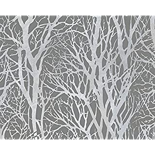A.S. Creation Fleece Wallpaper Collection Life 3-Grey 300943 by A.S. Création