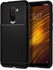 Spigen Rugged Armor Case for Xiaomi Poco F1 / Pocophone F1 (2018) - Matte Black S23CS25224