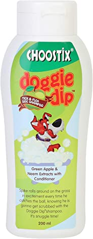 Choostix Dog Shampoo Tick and Flee, 200 ML