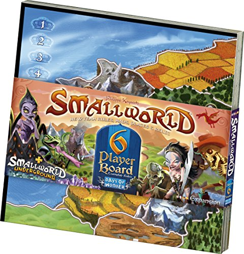 Days of Wonder 882680 - Small World 6 Spieler Erweiterung, Brettspiel