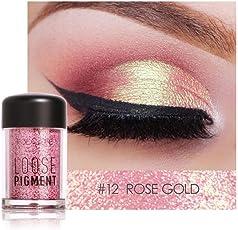 WYXlink Focallure 18 Farben Eye Shadow Makeup Pearl Metallic Glitzernd Eyeshadow Palette Für Frauen Dating Partys Abschlussball