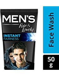 MENs Fair and Lovely Instant Fairness Rapid Action Face Wash 50 g