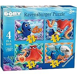 Buscando a Dory - Puzzle 4 en una caja (Ravensburger 07399)