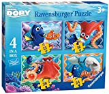 Ravensburger Disney Finding Dory 4 in a Box (12, 16, 20, 24pc) Jigsaw Puzzles
