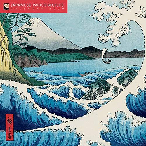 Japanese Woodblocks – Japanische Holzschnitte 2020: Original Flame Tree Publishing-Kalender [Kalender] (Wall-Kalender)