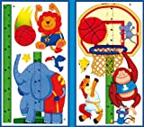 "Basketball toise dekosticker ""- dimensions :  env. 170 x 32 cm"