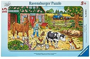 Ravensburger 060351 15pieza(s) rompecabeza - Rompecabezas (Tradicional, Dibujos, 3 año(s), Niño/niña, 15 Pieza(s))