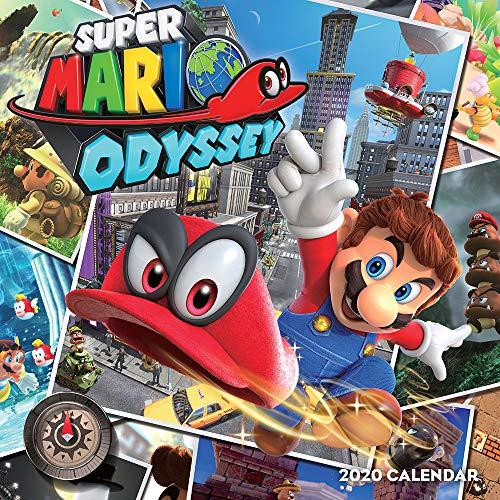 Nintendo: Super Mario Odyssey 2020 Wall Calendar