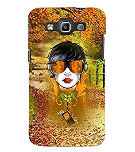 PrintDhaba Abstract Design D-3043 Back Case Cover for SAMSUNG GALAXY QUATTRO (Multi-Coloured)