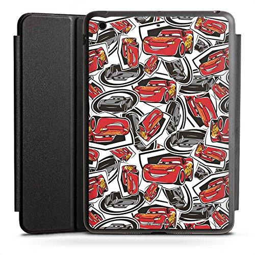 Apple iPad Mini Smart Case schwarz Hülle mit Ständer Schutzhülle Cars 3 Muster Disney Pixar
