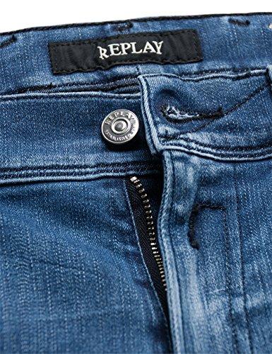 Replay Herren Slim Jeans Blue
