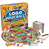 Drumond Park LOGO What Am I? Board Game | Family Board Game To Guess, Draw and Describe! | Family Christmas Gifts For Adults And Kids Suitable From 8+ Years