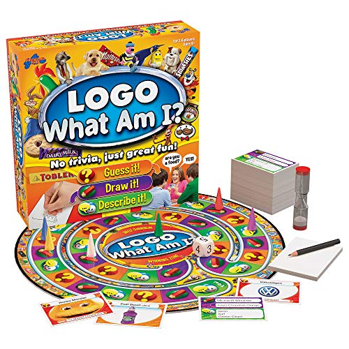 Drumond Park LOGO What Am I? Board Game | Family Board Game To Guess, Draw and Describe! | Family Games For Adults And Kids Suitable From 8+ Years