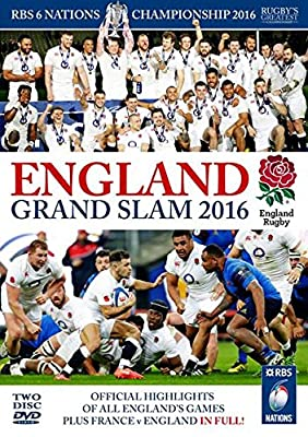 RBS Six Nations Championship 2016 - England Grand Slam [DVD] by Miracle Media