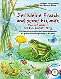 Der kleine Frosch und seine Freunde: Von der Ameise bis zum Schmetterling - Eine Geschichte mit vielen Sachinformationen über die großen Verwandlungskünstler in der Natur