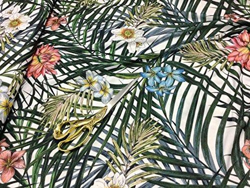 Scuba Stretch Crepe Jersey Floral
