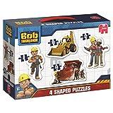 Jumbo Bob der Baumeister 4in 1geformte Puzzle in Einer Box