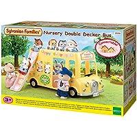 SYLVANIAN FAMILIES Nursery Double Decker Bus Mini Muñecas y Accesorios Epoch para Imaginar 5275