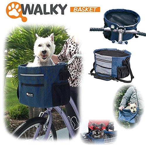 Trasportino per bicicletta Walky Basket + ganci supplementari