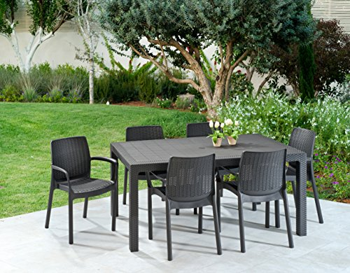 keter bali 2 seater outdoor garden furniture stacking chairs